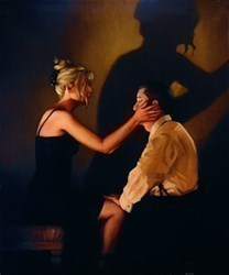 At Last, My Lovely by Jack Vettriano -  sized 8x10 inches. Available from Whitewall Galleries